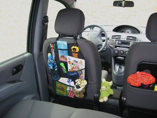 Органайзер в машину на сиденье своими руками